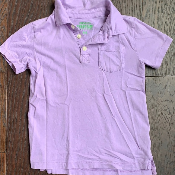 Crewcuts Other - Crewcuts Pale Purple / Lavender Polo